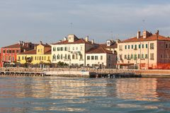 San Pietro di Castello at dusk, Venice, Italy Stock Photos