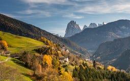 San Pietro di Laion, Bolzano, Italy. The Church. Royalty Free Stock Photography