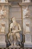 San Pietro em Vincoli em Roma, Itália Imagem de Stock Royalty Free
