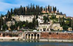 San Pietro Hill in Verona, Italy Stock Image