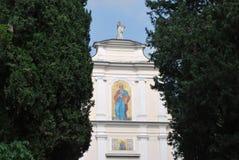 San Pietro i den Vincoli kyrkan Arkivbilder