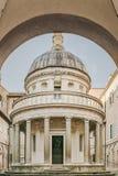 San Pietro i Montorio, Rome, Italien fotografering för bildbyråer