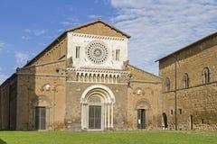 San Pietro i Tuscania royaltyfria foton