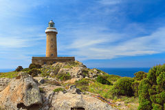 San Pietro island - lighthouse Royalty Free Stock Image