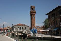 SAN Pietro Martire Bell Tower σε Murano Στοκ φωτογραφίες με δικαίωμα ελεύθερης χρήσης