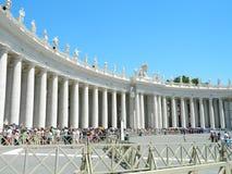 San Pietro piazza, Vatican, Roma, Italia Stock Photos