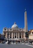 San Pietro a Roma Fotografia Stock Libera da Diritti