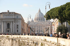 San pietro in Roma Stock Image