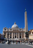 Vatican, San Pietro in Rome, Italy royalty free stock photo