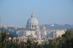 San Pietro Rome. Saint Peter's in Rome. Photo taken April 2015 Royalty Free Stock Photo