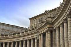 San Pietro in Vaticano Royalty Free Stock Photo