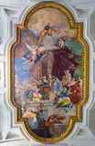 San Pietro in Vincoli church. Rome. Italy. Royalty Free Stock Images