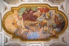 San Pietro in Vincoli in Rome, Italië Royalty-vrije Stock Foto's