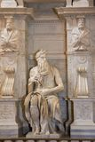 San Pietro in Vincoli in Rome, Italië Royalty-vrije Stock Afbeelding
