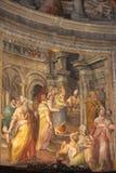 San Pietro in Vincoli, Rome, Italy stock image
