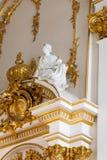 SAN PIETROBURGO, RUSSIA - 23 FEBBRAIO: Museo dell'Ermitage dello stato, interno, il 23 febbraio 2017 Fotografie Stock