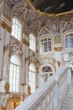 SAN PIETROBURGO, RUSSIA - 23 FEBBRAIO: Museo dell'Ermitage dello stato, interno, il 23 febbraio 2017 Fotografia Stock Libera da Diritti