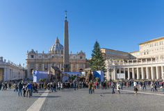 San Pitro, Vatikaan Stock Foto