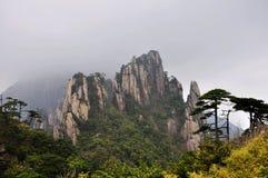 San-Qing-San berg Arkivbild