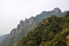 San-Qing-San Mountain Royalty Free Stock Image