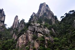 San-Qing-San Mountain Royalty Free Stock Photography