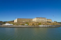 San Quentin国家监狱在加利福尼亚 免版税库存图片
