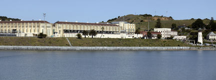 San Quentin. State Penitentiary is situated along San Francisco Bay Stock Photos