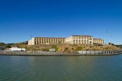 San Quentin delstatsfängelse i Kalifornien royaltyfria bilder