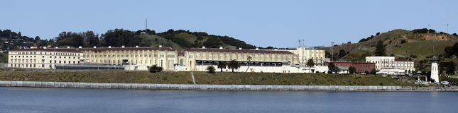 San Quentin Prison. San Quentin State Penitentiary is situated along San Francisco Bay Royalty Free Stock Photography