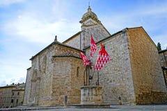 San Quirico Cathedral Fotografie Stock Libere da Diritti