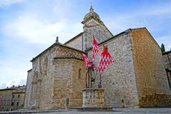 San Quirico Cathedral Royalty Free Stock Photos