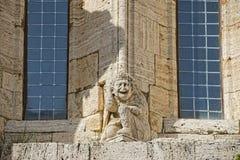 San quirico church detail Stock Photo