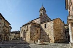 San quirico church Stock Photography