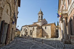 San quirico church Royalty Free Stock Images