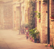 San Quirico d'Orcia Stock Image