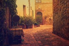 San Quirico d`Orcia Royalty Free Stock Photography