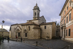 San Quirico  d`Orcia Royalty Free Stock Image