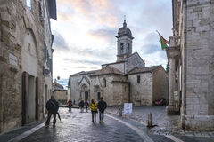 San Quirico  d`Orcia Royalty Free Stock Photo