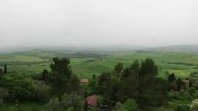 San Quirico d`Orcia Siena Tuscany Italy.  stock video footage