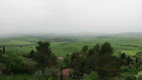 San Quirico d ` Orcia Siena Tuscany Włochy zdjęcie wideo