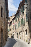 San Quirico d'Orcia (Tuscany) Stock Photos