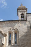 San Quirico d'Orcia (Tuscany), church Royalty Free Stock Photo