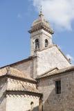 San Quirico d'Orcia (Tuscany), church Stock Photo