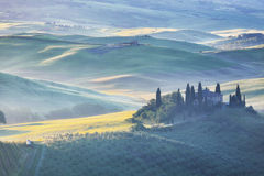 San Quirico d'Orcia, Tuscany, Italy Stock Images