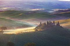 San Quirico d'Orcia, Tuscany, Italy Stock Photography