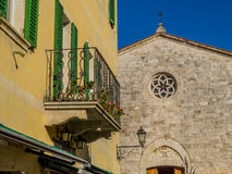 San Quirico d'Orcia, Tuscany Royalty Free Stock Images