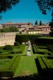 San Quirico d'Orcia, Włochy zdjęcia royalty free