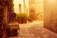 San Quirico d'Orcia Royalty Free Stock Photography