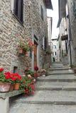 San Quirico (Svizzera Pesciatina, Toscânia) imagem de stock