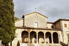 San Quirino Church in San Marino Royalty Free Stock Images